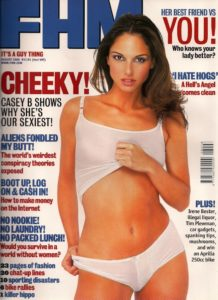 FHM Aug 2000 cover