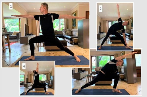 morning stretch exercise routine yoga standing poses